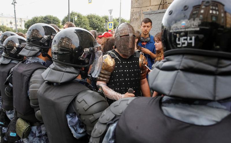 Kabar Ekonomi – Polisi Rusia Menahan Hampir 300 Demonstran Yang Memprotes Reformasi Pensiun