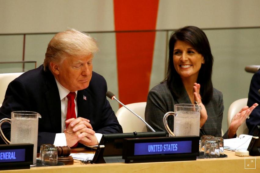 Kabar Internasional - Di Podium AS, Trump Gembar-gemborkan untuk Lindungi Kedaulatan AS
