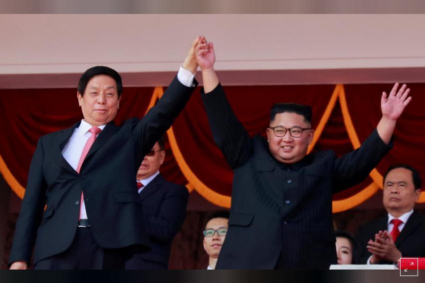Kabar Internasional - Tidak Ada Rudal Jarak Jauh, Parade Militer Korea Utara Tampilkan Senjata Konvensional