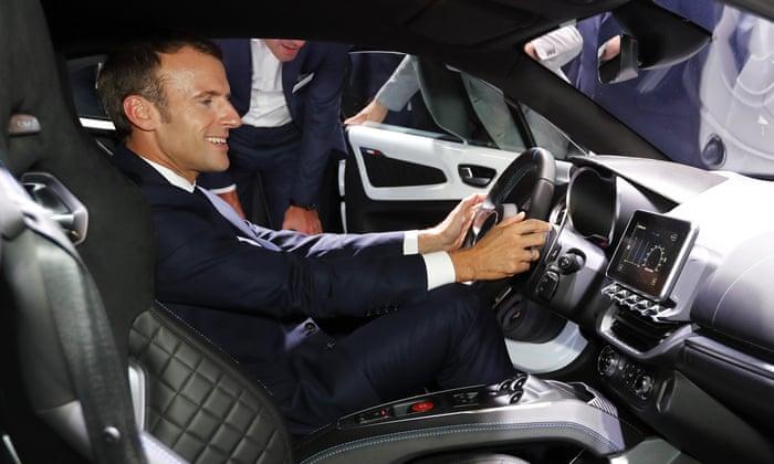 Kabar Ekonomi – Macron Buat Tawaran Kepada Perusahaan-Perusahaan Mobil Inggris