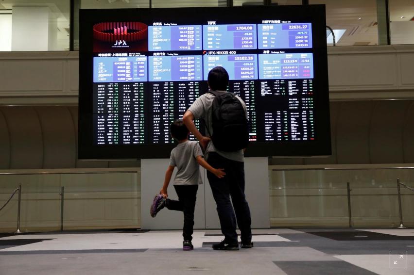 Kabar Ekonomi - Saham Asia Naik Pada Akhir Oktober, Di jalur Bulan Terburuk Sejak 2011