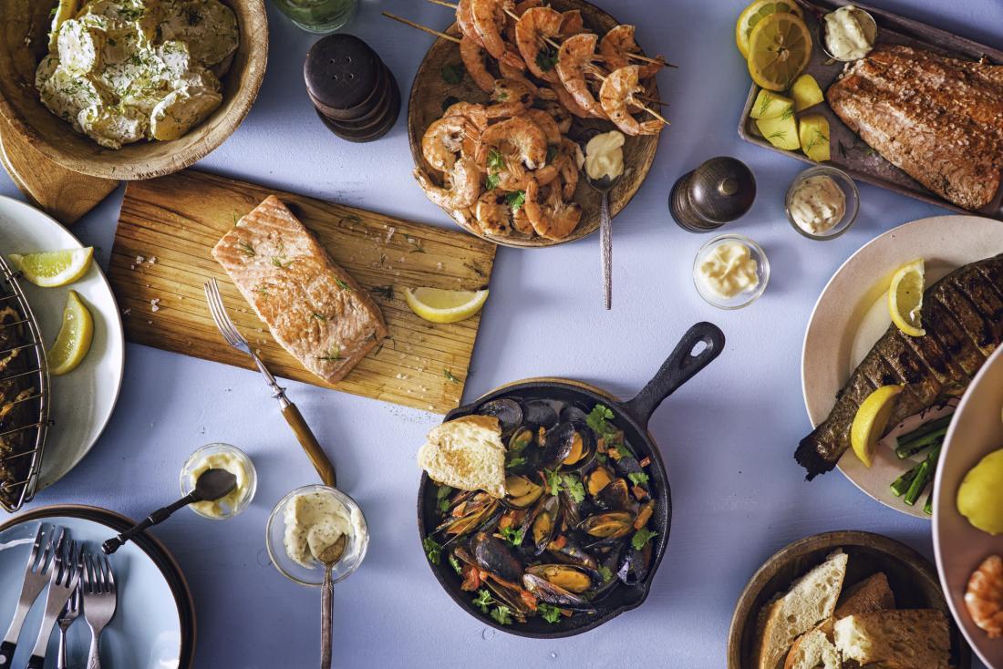 Kabar Kesehatan - Makanan Laut yang Kaya Omega-3 Dapat Meningkatkan Penuaan yang Sehat Bagian 2
