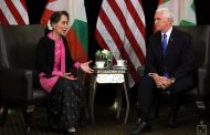 Kabar Internasional - Pence Keluarkan teguran Tajam Terhadap Suu Kyi atas Penganiayaan Rohingya
