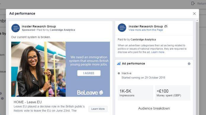 Kabar Teknologi - Iklan Cambridge Analytica Palsu Muncul di Facebook